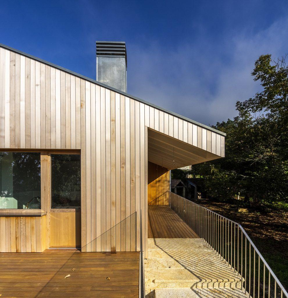 Casa de FQP Arquitectos en O Rosal