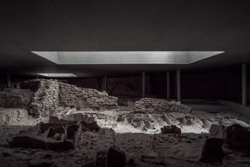 Fotografías de maqueta para Estar Arquitectos sobre el proyecto del Bastion de Saint-Antoine en Ginebra, Suiza.